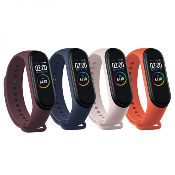 Silicone strap miband